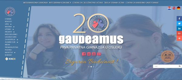 Prva privatna gimnazija Gaudeamus, Osijek