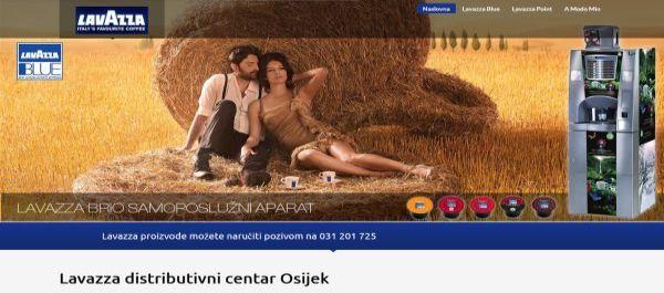 Lavazza distributivni centar Osijek
