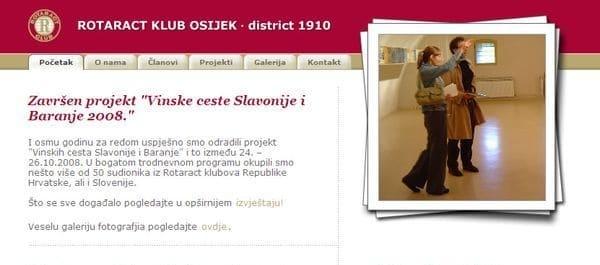 Rotaract klub, Osijek