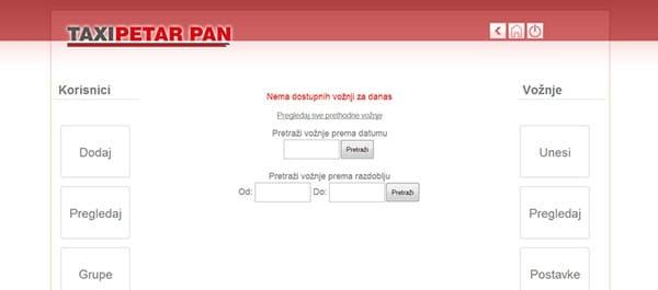 Taxi Petar Pan